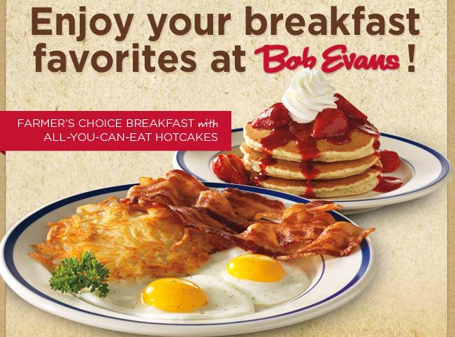 Bob Evans Coupons Breakfast 2018 Facebook Deals Direct